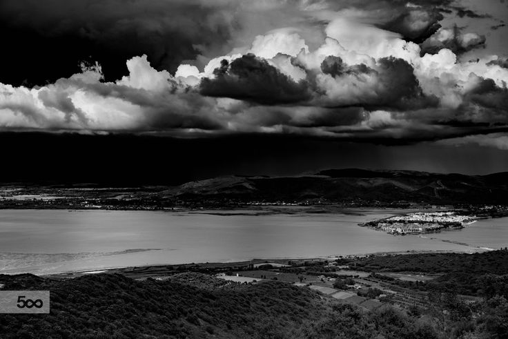 Orbetello lagoon by marco branchi on 500px