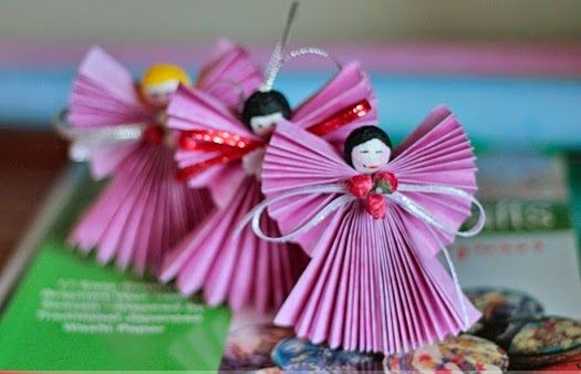 Paper craft Christmas ornament ideas