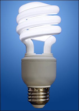 Ideal Replace traditional incandescent bulbs with Compact Fluorescent Light bulbs CFLs that have the ENERGY