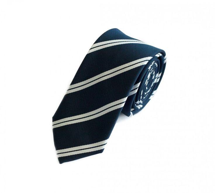 Small Tie from Fabio Farini in blue 6cm Width #FabioFarini