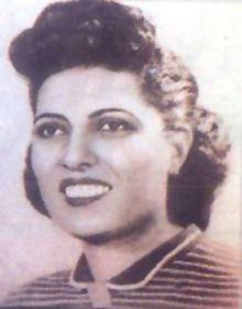 "Sameera Moussa (Arabic: سميرة موسى‎) (March 3, 1917-August 5, 1952) was an Egyptian nuclear scientist who held a doctorate in atomic radiation and worked to make the medical use of nuclear technology affordable to all. She organized the Atomic Energy for Peace Conference and sponsored a call for setting an international conference under the banner ""Atoms for Peace"""