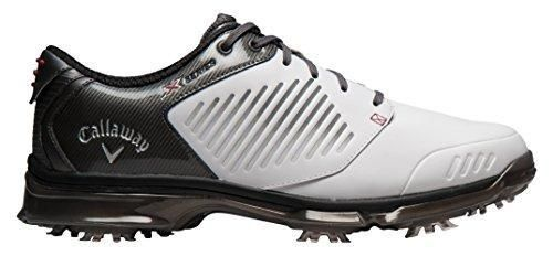 Oferta: 129.95€ Dto: -19%. Comprar Ofertas de Callaway Xfer Nitro - Zapatos de golf para hombre, color blanco / gris, talla 40 barato. ¡Mira las ofertas!