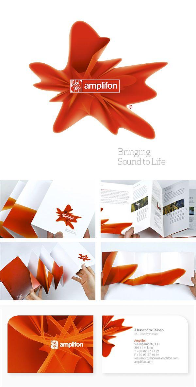Amplifon - Identity by Lewis Rowe, via Behance | repinned by www.altergrafix.be