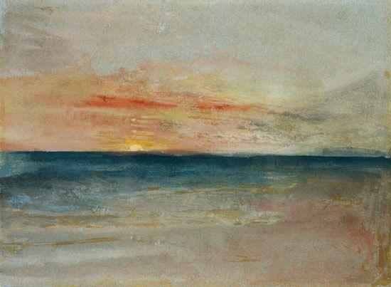 Joseph Mallord William Turner - Sunset