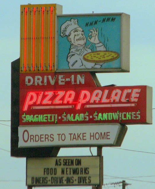 Pizza Palace - Knoxville, TN Try the pasta with meat sauce