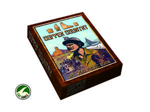 Copper Country Board Game. Explore the wilderness, expand your mining empire, and exploit resources (and your miners) in America's first mining boom! Copper Country is a strategic board game for 2 to 4 players age 13+. Pre-orders receive 10% off MSRP and free shipping to the United States.