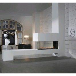 De #Faber Aspect Premium RD L is een prachtige #gashaard die een uniek beeld vormt in uw interieur. Dankzij de Step Burner is de Faber Aspect Premium RD L voorzien van een realistisch en sfeervol vuurbeeld. #Fireplace #Fireplaces