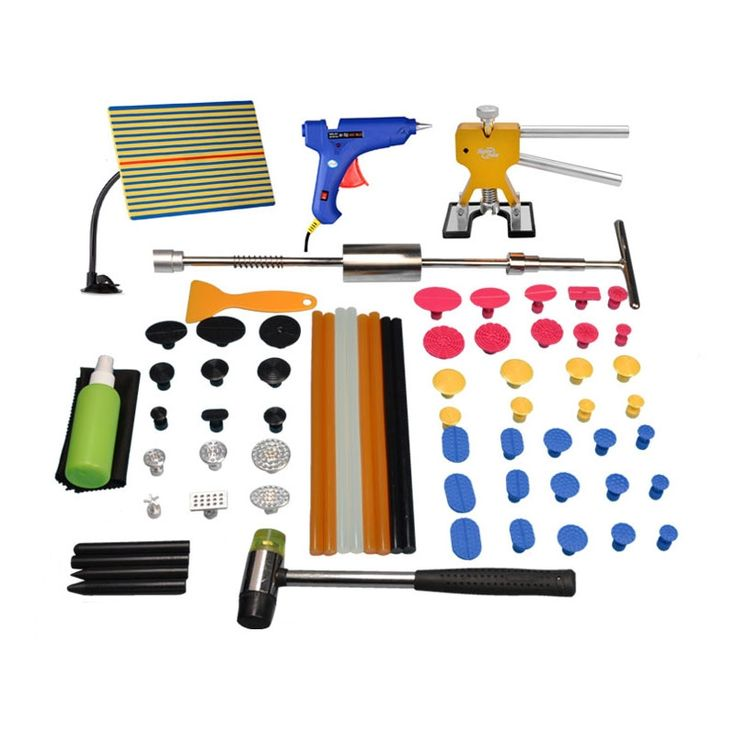 127.20$  Watch here - http://ali979.worldwells.pw/go.php?t=32752672182 - Super PDR Tools Paintless Dent Repair Tools Brand New PDR Tools Kit Slide Hammer Car Glue Gun for Sale Auto Body Shop