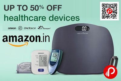 Amazon is offering Upto 50% off on #HealthCare Devices. Health care devices are a necessity for you and your loved ones. Check out some of the best deals on health care devices online.  http://www.paisebachaoindia.com/healthcare-devices-upto-50-off-amazon/