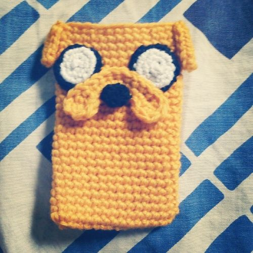 Jake the Dog Cozy Amigurumi ( from Adventure Time) Free Crochet Pattern