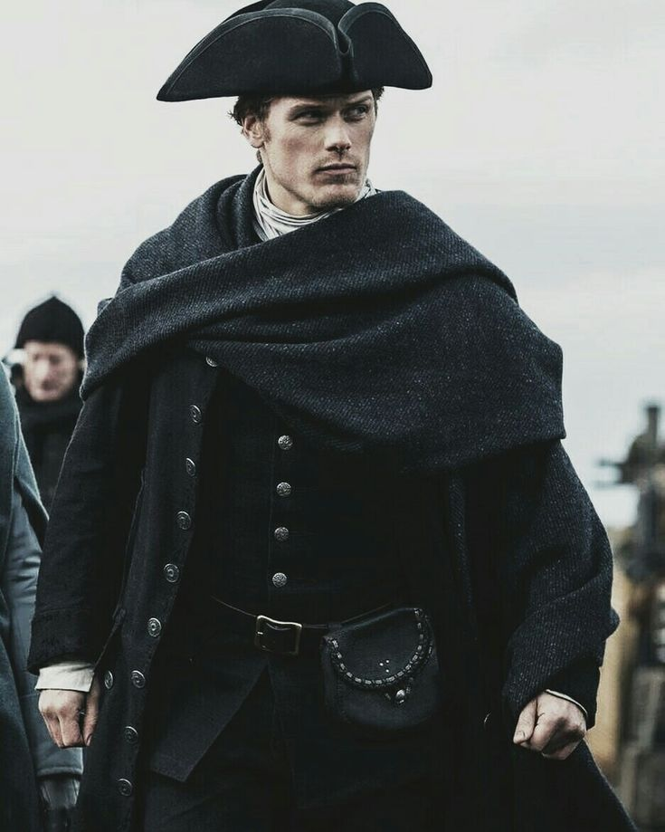 An the award goes to Sam Heughan for leading role in a drama/sci-fi series..
