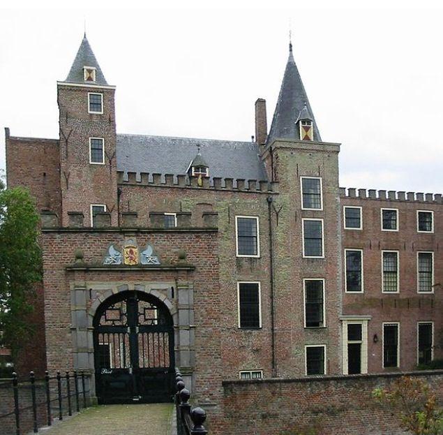 Haamstede castle Zeeland the Netherlands