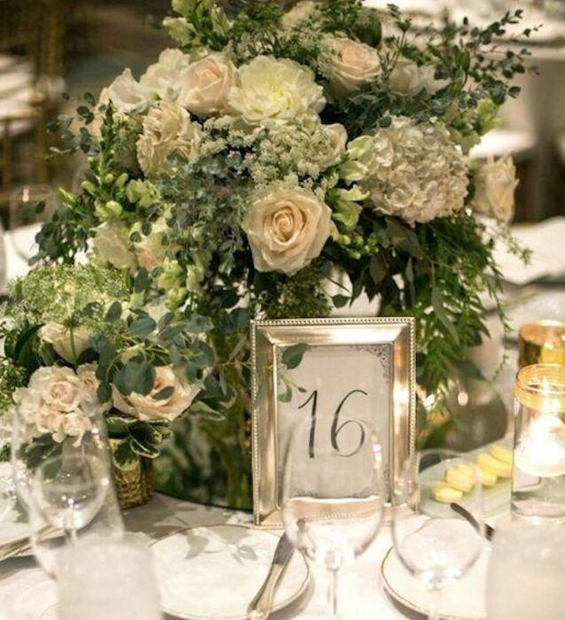 Wedding centerpiece idea; photo: Michael Segal Photography