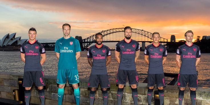 2017/18 Puma Arsenal 3rd Jersey. Shop > http://www.soccerpro.com/Arsenal-c141/