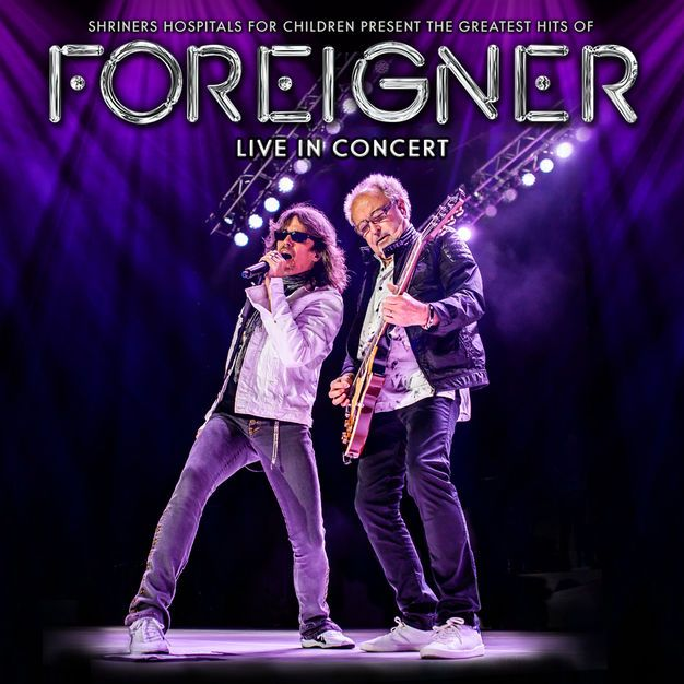 Foreigner The Greatest Hits Of Foreigner Live In Concert Album