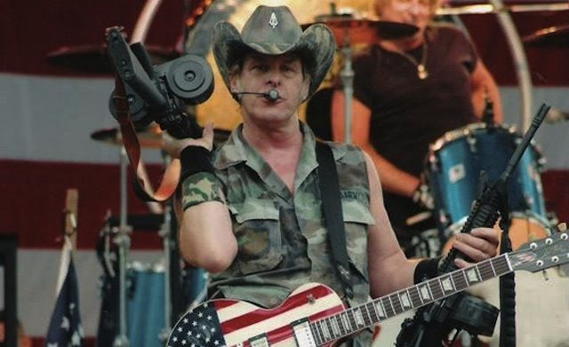 Ted Nugent's wife arrested for the old handgun in the carry-on gag