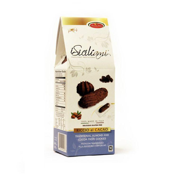 Mandelkaker fra Sicilia med kakao