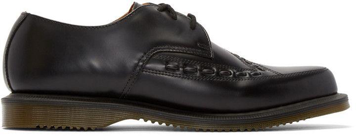 Dr. Martens Black Leather Ally Derbys