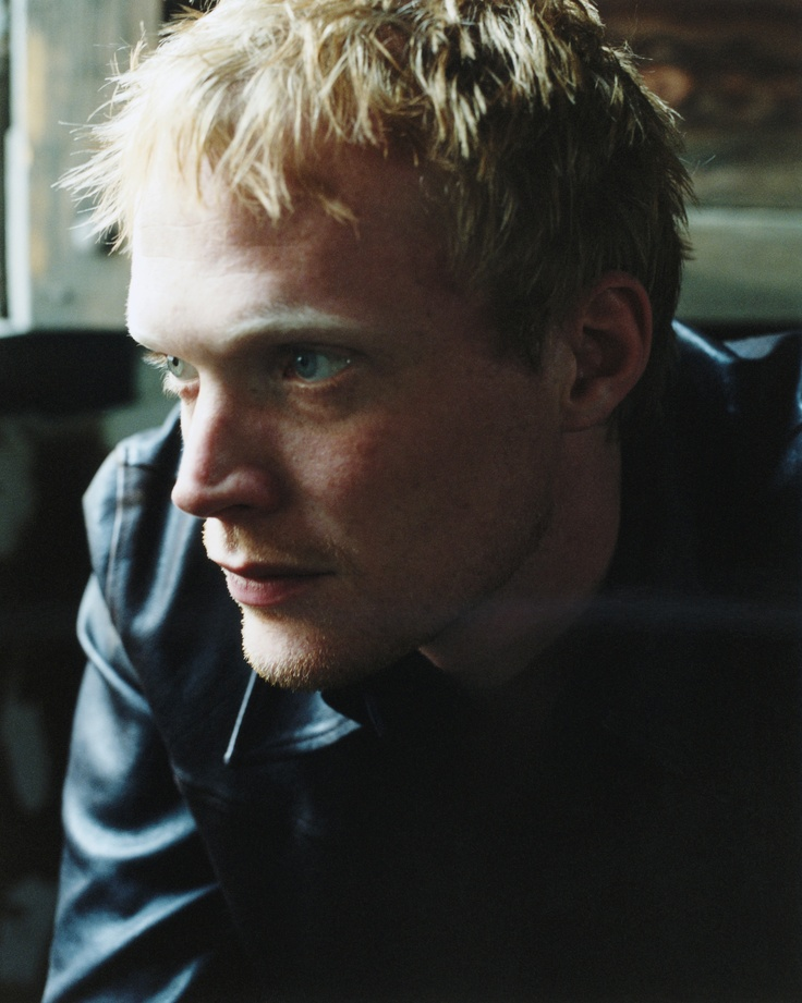 Paul Bettany. There just something really beautiful about his hair color.