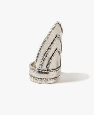 Pointed triangle ring: Triangle Ring, Triangles Rings, Points Triangles, Spring Summ, Forever21 3, Accessories, Style File