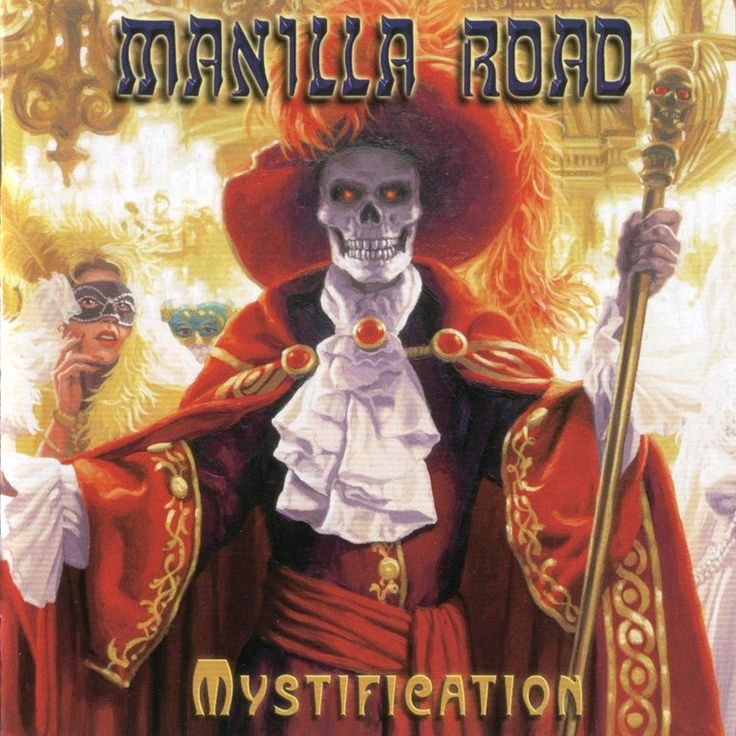 Manilla Road — Mystification (1987)   Epic Heavy Metal