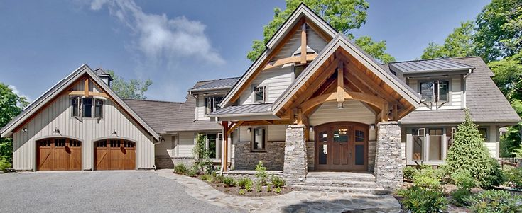 Timber Home Exteriors | LEED-H Gold Home