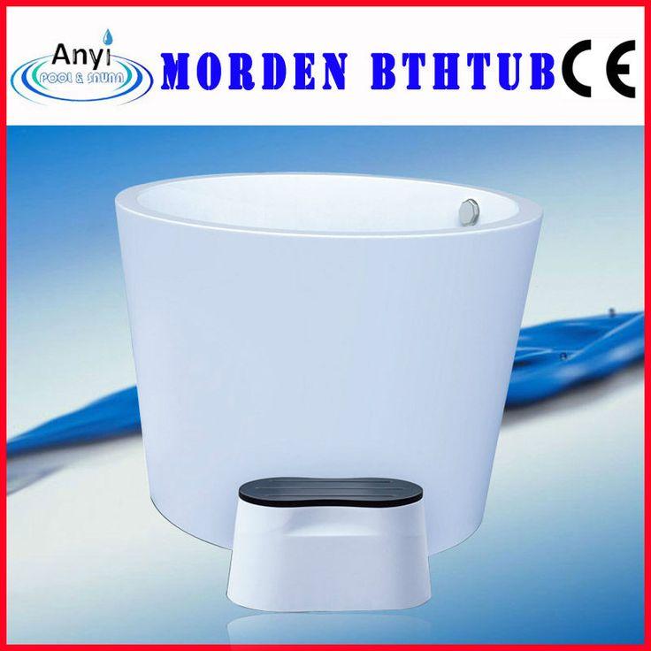 China Small White Acrylic Indoor Portable Spa Tub,Soaking Bathtub   Buy Portable  Bathtub,Small Bathtub,Dimensions Bathtub Product On Alibaba.com