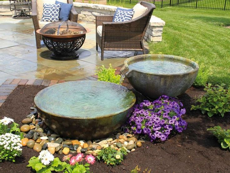 15 Patio Sized Fire Pits And Water Features