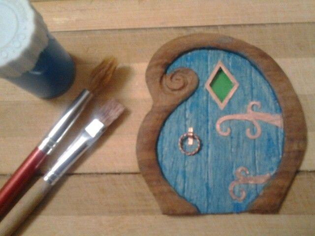 Fairy house door