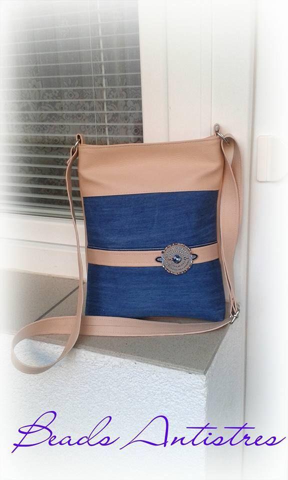 My work 3/2017 handbag with soutache