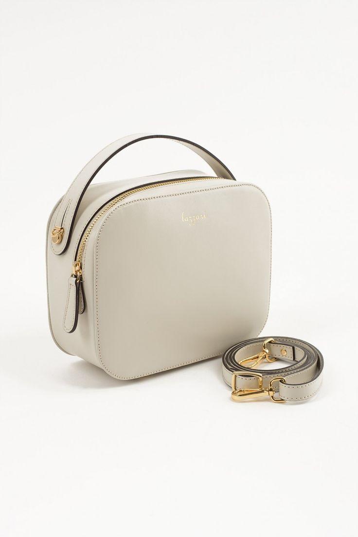 Borsa valigetta con manico a tracolla Abbigliamento Donna Made in Italy