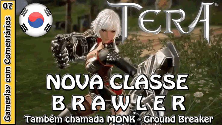 TERA ONLINE gameplay com a nova classe BRAWLER (TERA COREANO)