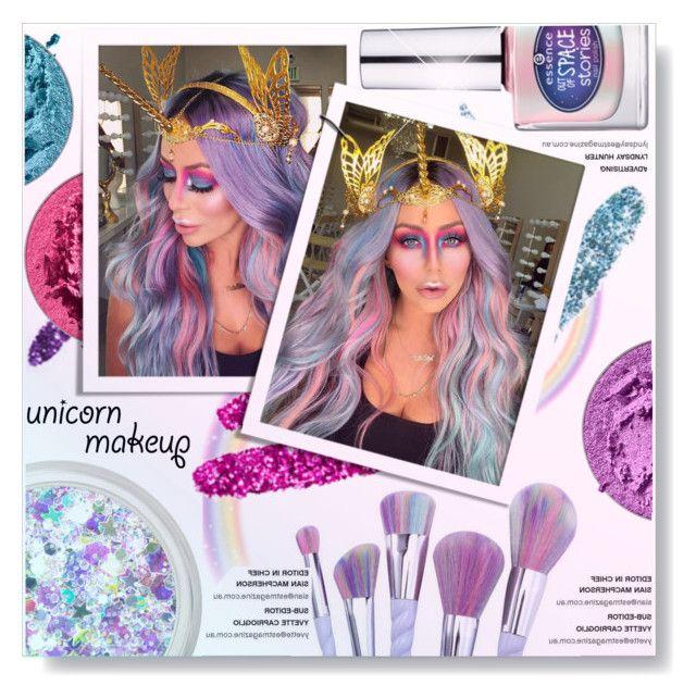 """Unicorn Makeup... (Aubrey O'Day)"" by yurisnazalieth1 ❤ liked on Polyvore featuring Urban Decay"