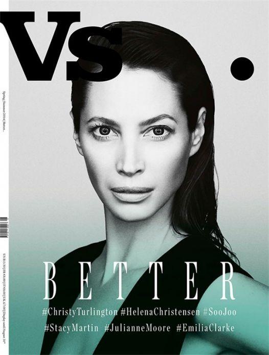 Кристи Терлингтон для Vs. Magazine весна 2014