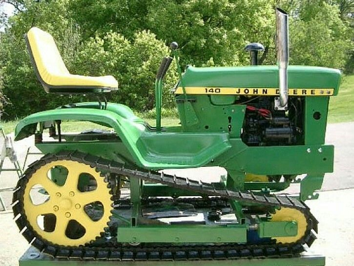Lawn Tractor Dozer Tracks Conversion : Best images about john deere mower on pinterest