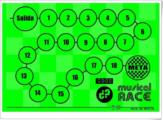 """JUEGOS DE FIN DE CURSO: """"Musical Race"""""""