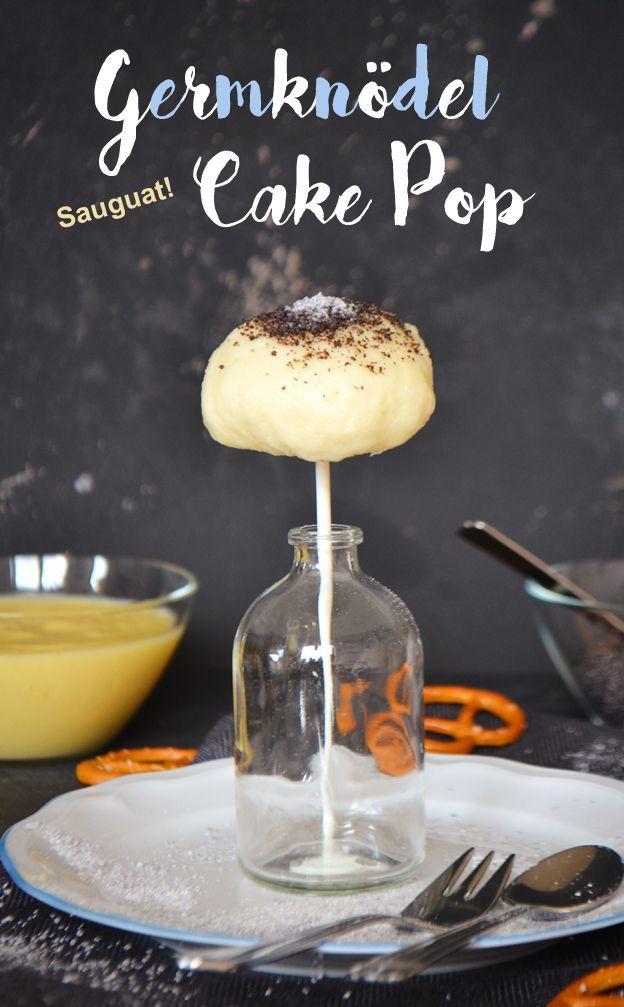 Germknödel-Cake Pops mit Vanillesauce und Mohnzucker! Kochen & Backen zum Oktoberfest (Wiesn)