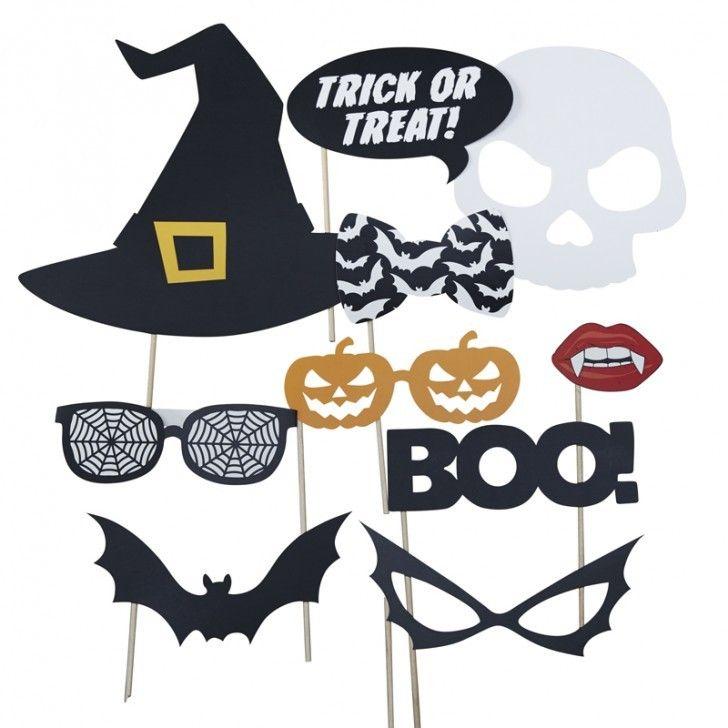 4. terrorífica fiesta de halloween photo booth