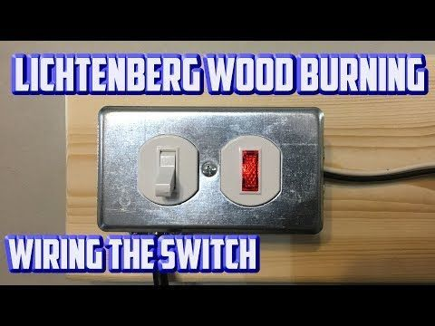 Making a Lichtenberg Wood Burning Machine from a Microwave ...