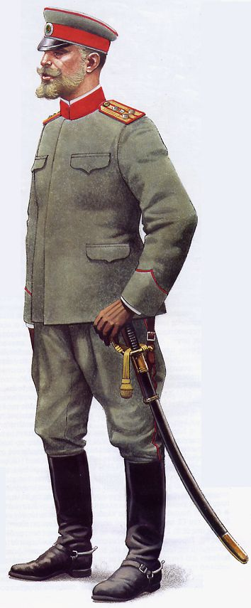 Bulgarian  infantry colonel,