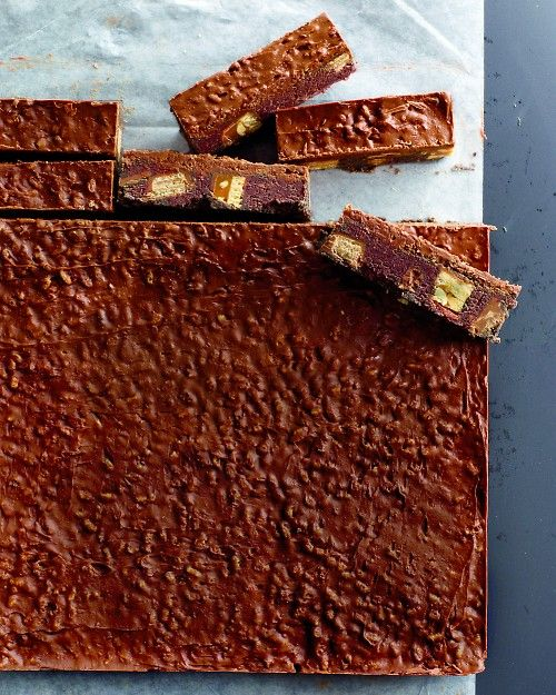 Chocolate-Candy Icebox Bars - Martha Stewart Recipes