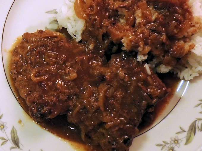 Country steak with onion gravy: 13 January 2016: Finding Home by the Recipe V—Meet Carol Ann McCarter and Juanita Jackson at the Cozy Corner Café - Damon Lee Fowler. - ****Mushrooms, Mushrooms, Mushrooms - Brandon