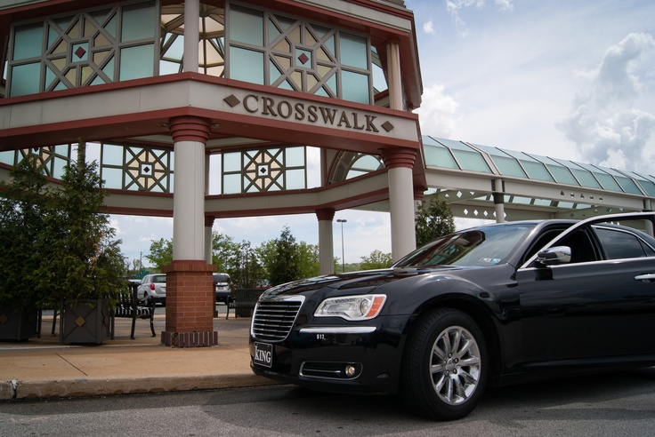 One of our Chrysler 300's at the King of Prussia Mall.
