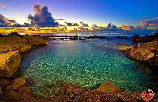 Rota Island, Marianas - Lived here for 12 years.  Beautiful!