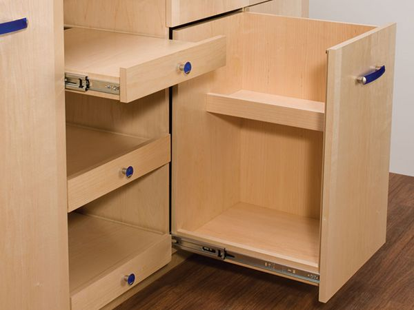Fresh Kitchen Cabinet soft Close Drawer Slides