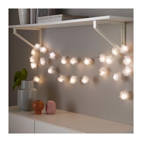 Livsår Oświetlenie Led 24 Lampki Ikea Romantyczna Julia