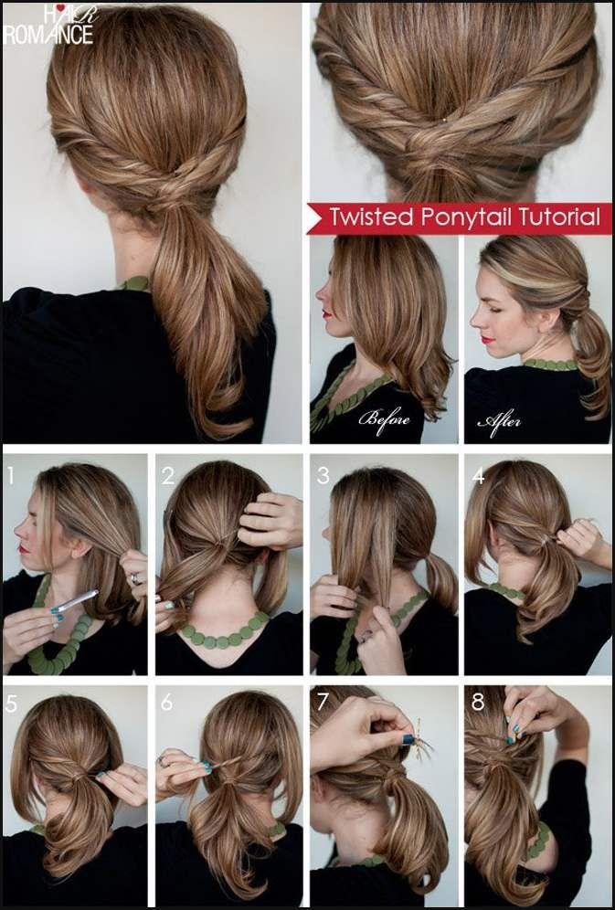 Frisuren Für Die Arbeit 15 Schöne Frisuren Die Hände Einfache
