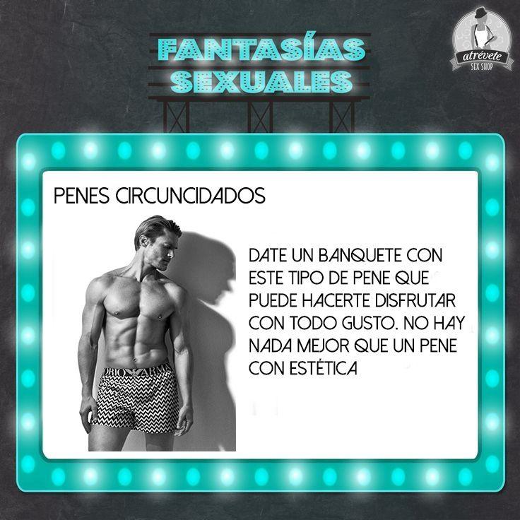 #fantasías #sexuales #sevilla #sexatrevete ¿Te gustan los penes circuncidados?
