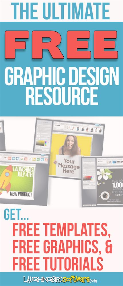 FREE graphic design software, graphics templates and tutorials: The ultimate graphics resource for online entrepreneurs and small businesses. Take care of all your daily graphics for your blog, web page, email and social media!