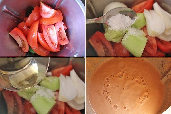 Gazpacho, ¡cómo hacer la receta de gazpacho andaluz perfecta! , Gazpacho andaluz. Descubre cómo hacer la receta de gazpacho perfecta, el gazpacho andaluz paso a paso y otros gazpachos de frutas que te gustarán